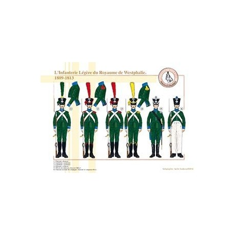 L'Infanterie Légère du Royaume de Westphalie, 1809-1813