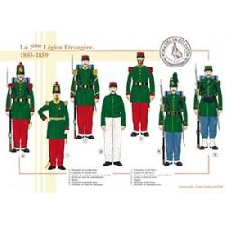 La 2ème Légion Etrangère, 1855-1859