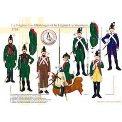 La Légion des Allobroges et la Légion Germanique, 1795