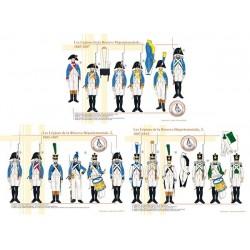 Les Légions de la Réserve Départementale, 1805-1812