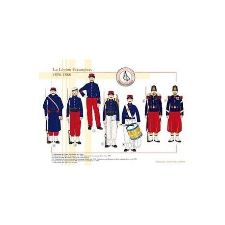 La Légion Etrangère, 1856-1860