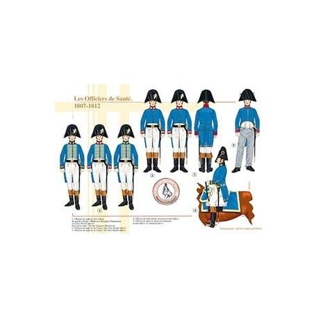 Les Officiers de Santé, 1807-1812
