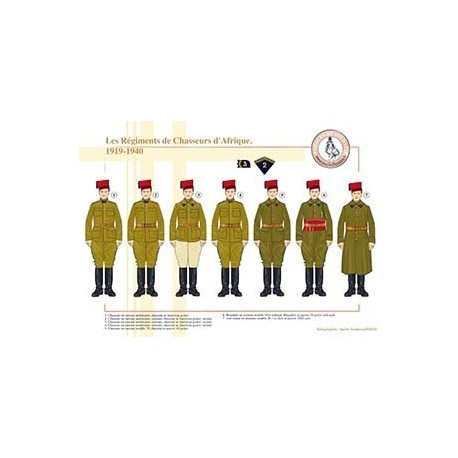 Les Régiments de Chasseurs d'Afrique, 1919-1940