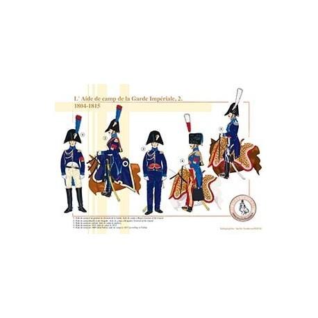 L'Aide de camp de la Garde Impériale (2), 1804-1815