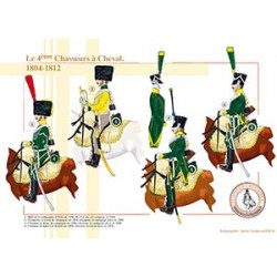 Le 4ème Chasseurs à Cheval, 1804-1812