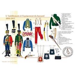 L'habillement et l'équipement du Hussard, 1804-1812