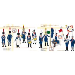 7ème Régiment d'Infanterie Légère, 1806-1812