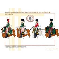 Les Chasseurs à cheval de la Garde Impériale de Napoléon III, 1854-1870