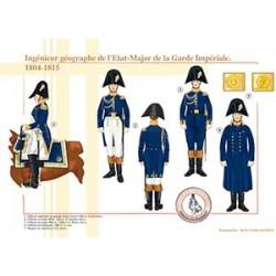 Ingénieur géographe de l'État-Major de la Garde Impériale, 1804-1815