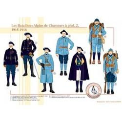 Les Bataillons Alpins de chasseurs à pied (2), 1915-1918