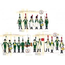 Le Régiment Irlandais, 3ème Etranger (2, 3 et 4), 1806-1812