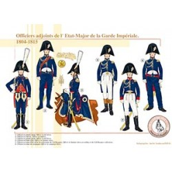Officiers adjoints de l'État-Major de la Garde Impériale, 1804-1815