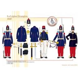 La Légion Etrangère, 1845