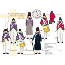 La 88ème demi-brigade d'infanterie de ligne en Egypte, 1800-1801