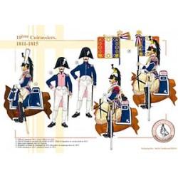 10ème Cuirassiers, 1811-1815