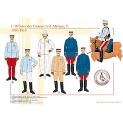L'Officier des Chasseurs d'Afrique (2), 1900-1914