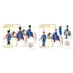 Le Trompette du Train d'Artillerie de la Garde Impériale, 1804-1815