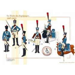Le Train des Equipages, 1807-1812