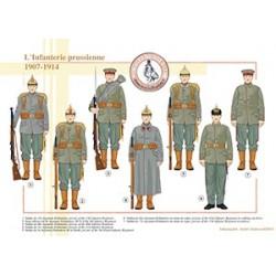 L'Infanterie prussienne, 1907-1914