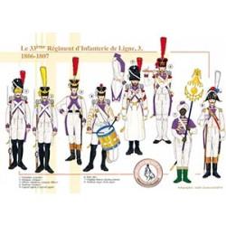 Le 33ème Régiment d'Infanterie de Ligne (3), 1806-1807
