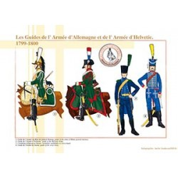 Les Guides de l'Armée d'Allemagne et de l'Armée d'Helvetie, 1799-1800