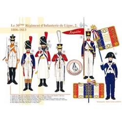 Le 30ème Régiment d'Infanterie de Ligne (2), 1806-1813