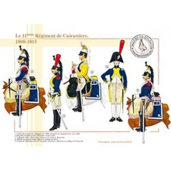 Le 11ème Régiment de Cuirassiers, 1808-1815