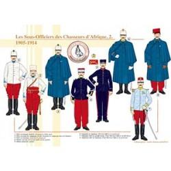 Les Sous-Officiers des Chasseurs d'Afrique (2), 1905-1914