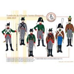 Landwehr de l'Empire Austro-Hongrois, 1808-1815