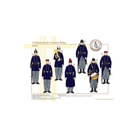L'Infanterie de l'Armée Belge, 1914