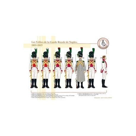 Les Vélites de la Garde Royale de Naples, 1811-1815