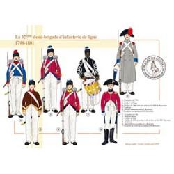 La 32ème demi-brigade d'infanterie de ligne en Egypte, 1798-1801