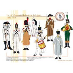 Le 14ème régiment d'Infanterie de Ligne, 1806-1813