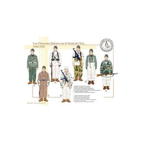 Les Chasseurs-Skieurs sur le Front de l'Est, 1942-1943
