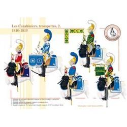Les Carabiniers, trompettes (2), 1810-1815