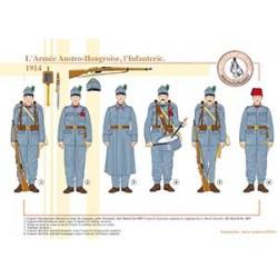 L'Armée Austro-Hongroise, l'Infanterie, 1914