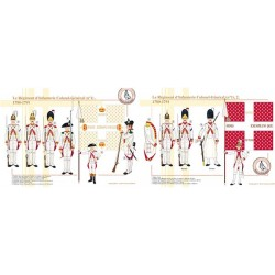 Le Régiment d'Infanterie Colonel-Général (n°1), 1780-1791