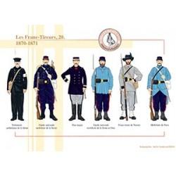 Les Franc-Tireurs (20), 1870-1871