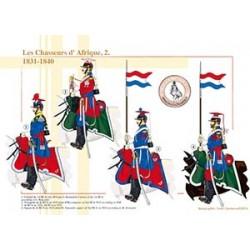 Les Chasseurs d'Afrique (2), 1831-1840