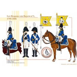 Les Dragons von Bayern n°1, 1790-1806
