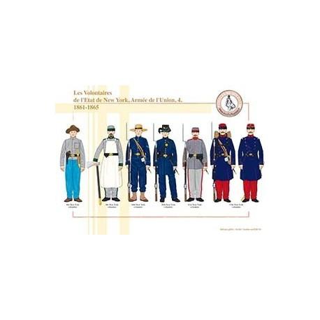 Les Volontaires de l'Etat de New York, Armée de l'Union (4), 1861-1865