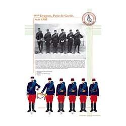9ème Dragons, Poste de Garde, vers 1905