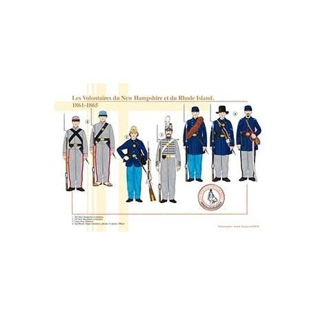 Les Volontaires du New Hampshire et du Rhode Island, 1861-1865