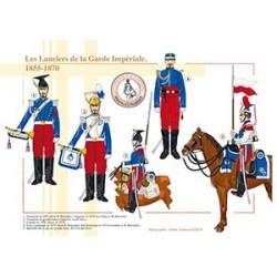 Les Lanciers de la Garde Impériale, 1855-1870
