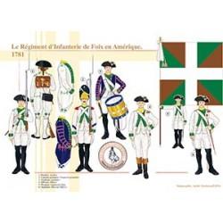 Le Régiment d'Infanterie de Foix en Amérique, 1781