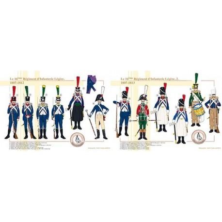 Le 16ème Régiment d'Infanterie Légère, 1807-1812