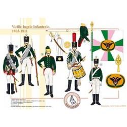 Vieille Ingrie Infanterie, 1803-1811