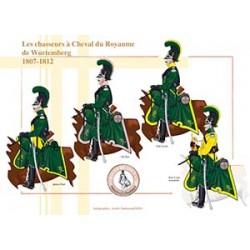 Les chasseurs à Cheval du Royaume de Wurtemberg, 1807-1812