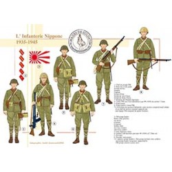 L'Infanterie Nippone, 1935-1945