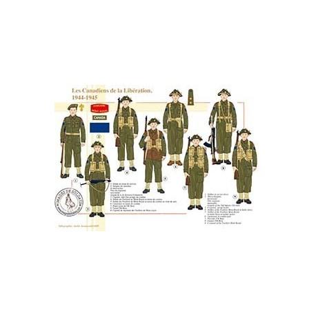 Les Canadiens de la Libération, 1944-1945